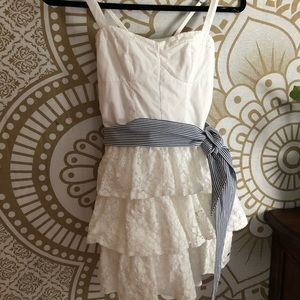 Abercrombie kids ⭐️ lace/eyelet dress ⭐️ worn once